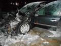 Наулице Челюскинцев вМогилёве горел автомобиль