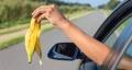 Дорога— немусорная свалка. Могилёвская ГАИ обращает внимание автомобилистов накультуру поведения