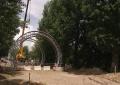 Первые арки появились на«горбатом» мосту вМогилёве