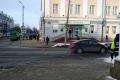В Могилёве машина сбила 12-летнюю школьницу, которая шла на «зелёный»