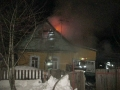 Частный жилой дом горел вМогилёве