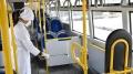Вобщественном транспорте вМогилеве усилены меры профилактики ОРВИ икоронавируса