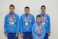 Уквартета могилёвских спортсменов— «серебро» нареспубликанской спартакиаде ДЮСШ поакробатике